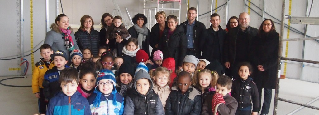 Visite des élèves à l'école Calmette et Guérin