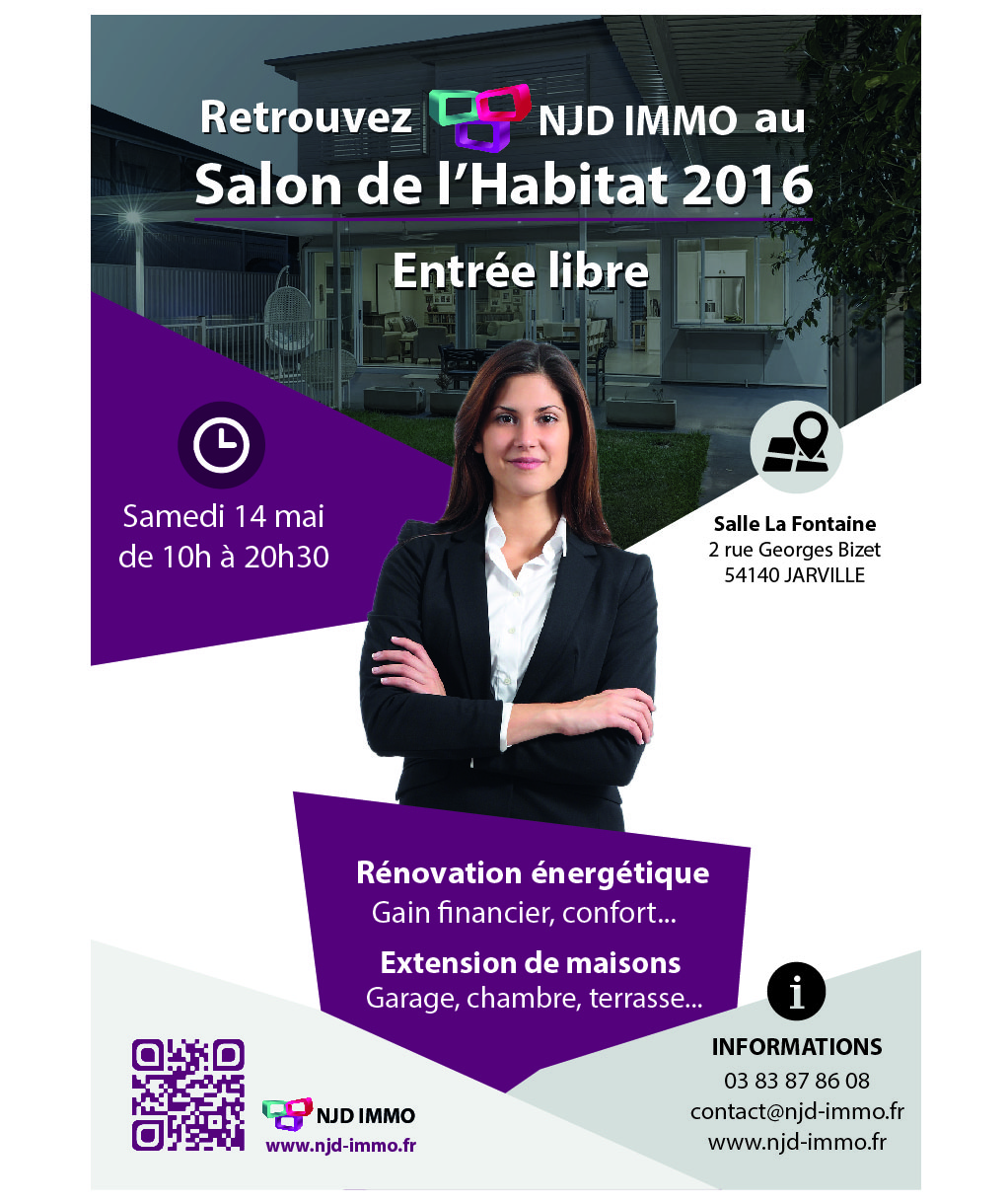 Salon de l 39 habitat 2016 jarville la for Salon de la photo 2016