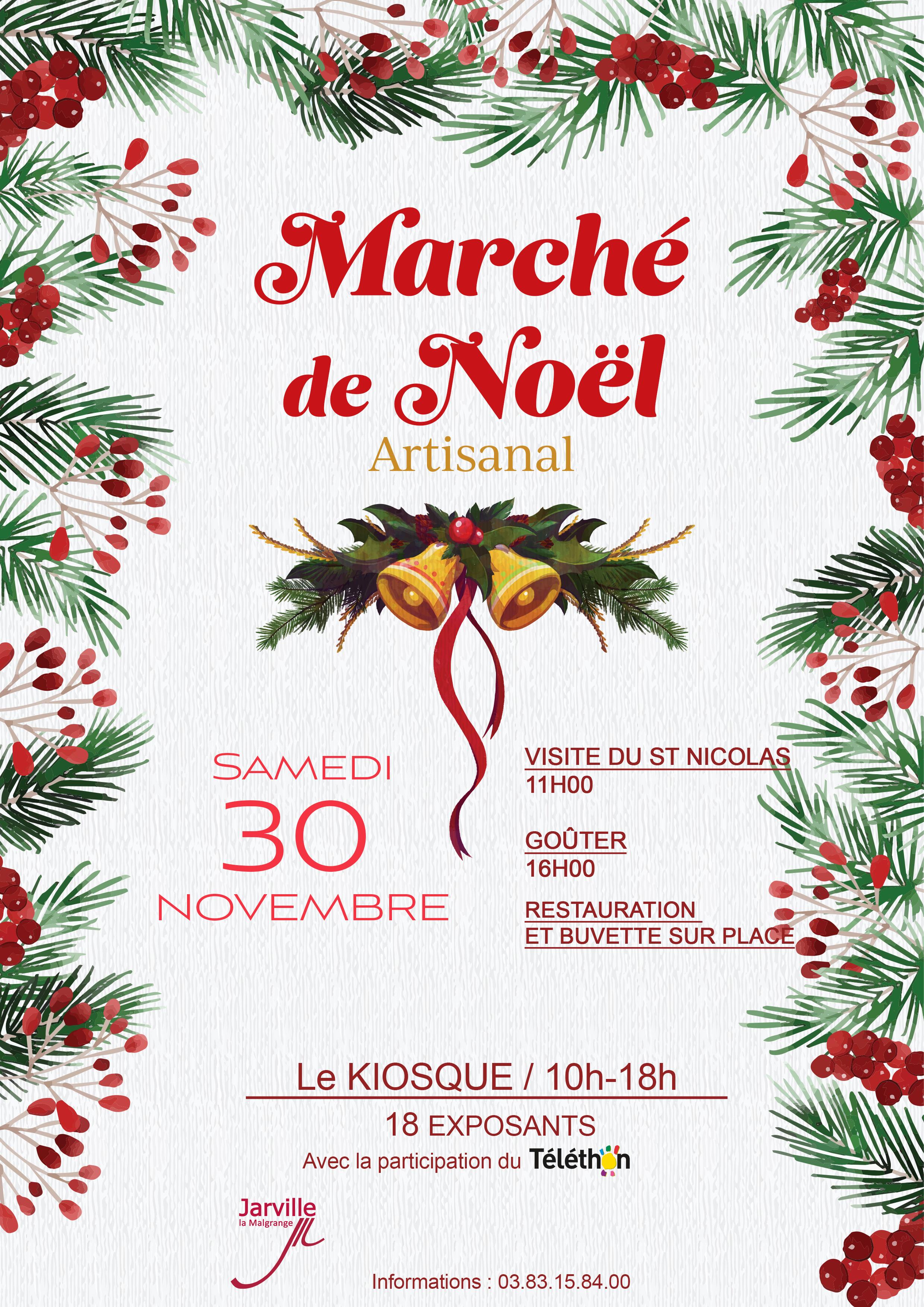Affiche Noel AFFICHE NOEL 2019   Jarville la Malgrange.fr